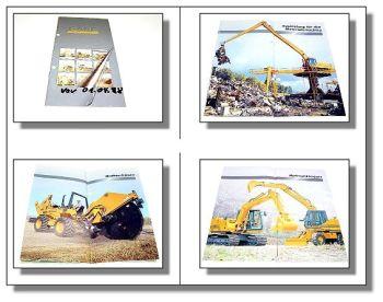 Case Prospekt Baumaschinen & Grabenfräsen Programm 1996