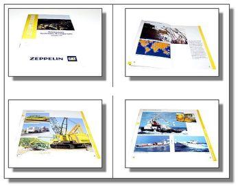 Zeppelin CAT Lieferprogramm Diesel- Gas- Schiffsmotoren