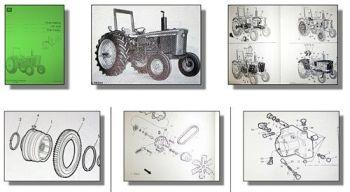 John Deere 2130 Traktor Ersatzteilliste Ersatzteile