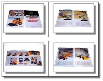 2 x Daewoo Lader Bagger Komplettprogramm Prospekt 2001