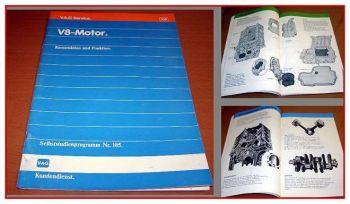 SSP 105 Audi V8 3,6l V8 Motor Konstruktion Funktion Schulung