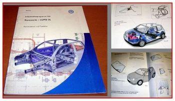 SSP 216 VW Lupo 3L Karosserie Konstruktion Funktion Selbststudienprogramm 1999