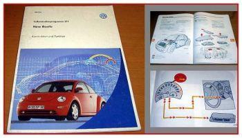 SSP 211 VW New Beetle Typ 9C Selbststudienprogramm 1998