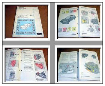 Ford Mondeo Fahrzeug Elektrik und Elektronik Schulungshandbuch 92