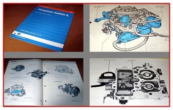 Audi 80 Typ 89 B3 Keihin II Vergaser Selbststudienprogramm SSP 92