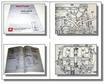 Citroen XUD11 A / ATE / BTE Motor Reparaturhandbuch