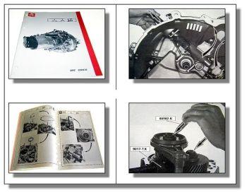 Werkstatthandbuch Citroen XM Evasion Überholung Getriebe ME5T Reparaturanleitung