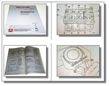 Reparaturanleitung Citroen C8 2,2 L 16V RFZ Benzinmotor Werkstatthandbuch 2002