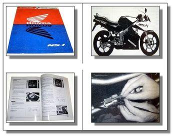 Honda NS1 NS-1 Werkstatthandbuch Reparaturhandbuch Reparaturanleitung