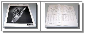 Solo 639 645 Motorsäge Ersatzteilliste Parts List 1993