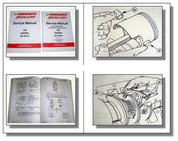 Mariner Mercury 250 OptiMax Jet Drive Service Manual