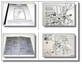 Mariner Mercury 15XD 20 Jet 20 25 Werkstatthandbuch 1996