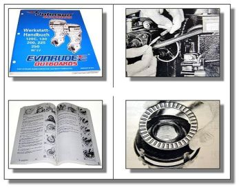 Evinrude Johnson 125 - 250 Bootsmotor Werkstatthandbuch