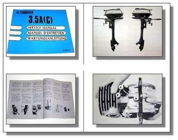 Yamaha 3.5A (C) Außenborder Wartungsanleitung Service Manual Werkstatthandbuch