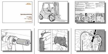 Linde H20 H25 H30 Diesel Gabelstapler Betriebsanleitung