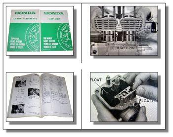 Werkstatthandbuch Honda CB125T CB125T2 CB125TD 1977 - 1982 Reparaturanleitung