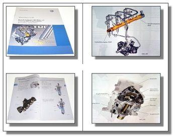 SSP 465 VW Polo Blue Motion 1,2l 55KW CFWA TDI Motor Schulung