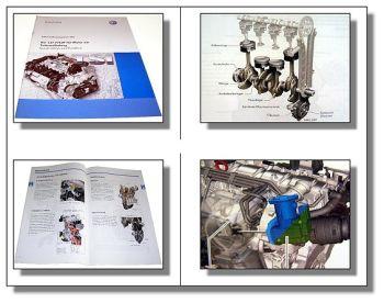 SSP 443 VW 1,2l 75KW TSI Turbo Motor Selbststudium VW Touran Aud