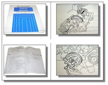 Toyota Previa Tarago Werkstatthandbuch 2.4 L 16V Motor 2AZ-FE Stand 2000