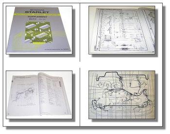 Toyota Starlet EP8 elektrische Schaltpläne Werkstatthandbuch ab Mai 1994