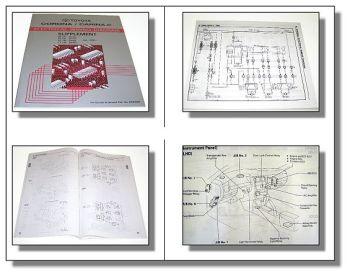 Werkstatthandbuch Toyota Corona Carina E ST191 AT191 AT190 CT190 Schaltpläne 96