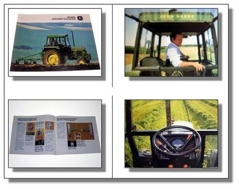 John Deere 1640 Traktor Schlepper Prospekt 1979