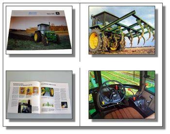 John Deere 1640 Traktor Schlepper Prospekt 1982