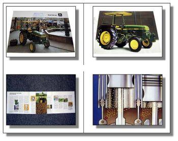 John Deere 940 Traktor Schlepper Prospekt 1984 Technisches Datenblatt