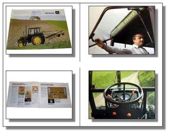 John Deere 1040 Traktor Schlepper Prospekt 1984 Technische Daten