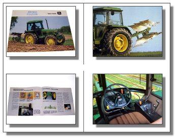 John Deere 2040S Traktor Schlepper Prospekt 1984