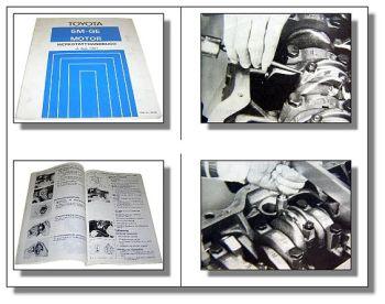 Toyota Supra Celica MA61 Werkstatthandbuch 5M-GE Motor 1981