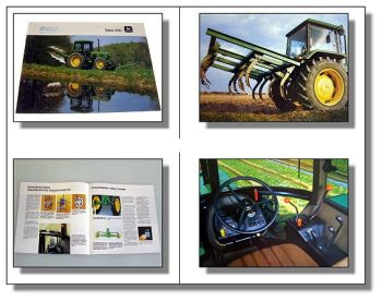 John Deere 2040 Traktor Schlepper Prospekt 1982