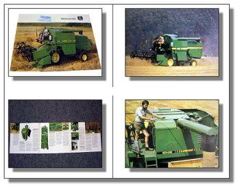 John Deere 1042 Mähdrescher Prospekt 1984