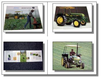 John Deere 840 Traktor Schlepper Prospekt 1984