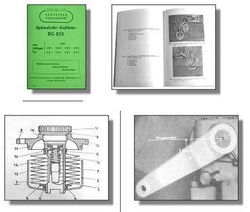 MAN Schlepper hydraulischer Kraftheber BG 825 Handbuch