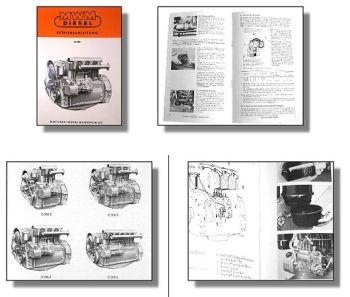 MWM D308 2 bis 6 Zylinder Betriebsanleitung