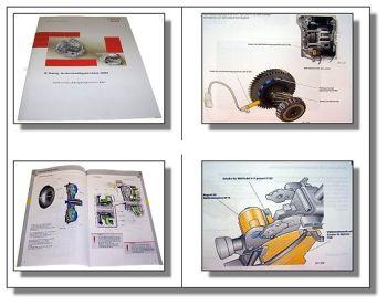SSP 291 Audi A3 TT Automatikgetriebe 09G Schulung  Konstruktion