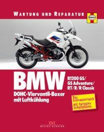 BMW R1200 GS GS Adventure RT R  R classic Wartung
