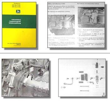 John Deere 830 / 840 - 3140 Handbuch Zusatzsteuergeräte