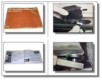 Audi 80 B2 Typ 81 Betriebsanleitung Bedienungsanleitung 1982