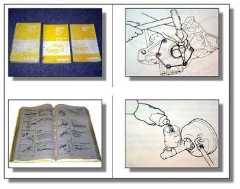 Mazda 323 Station Wagon Werkstatthandbuch 86-89 3 Bände