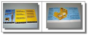 Liebherr Hubwerk + Programmübersicht 3 Prospekte