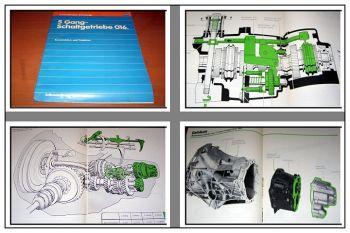 SSP 27 Audi 100 C2 5-Gang Schaltgetriebe 016 Konstruktion Funktion 1979