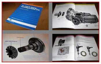 SSP 74 Audi 80 Getriebe 012 Konstruktion Funktion 1986 B3 C3 Selbststudienprogra