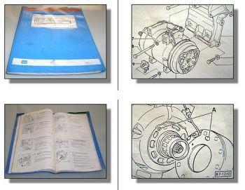 Reparaturleitfaden Audi 100 C4 S4 Heizung Klimaanlage Werkstatthandbuch 1991-97