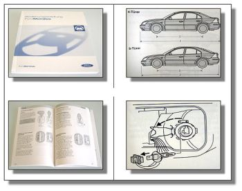 Ford Mondeo 3 Betriebsanleitung Bedienungsanleitung 11/2003 Bordbuch