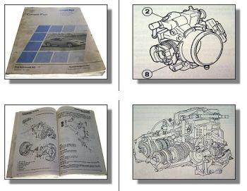 Werkstatthandbuch Fiat Coupe Seminar Schulungshandbuch 1994