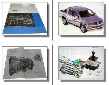 SSP 464 VW Amarok Kraftübertragung Antriebskonzept Konstruktion