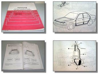 Toyota Corona Carina II Werkstatthandbuch Karosserie