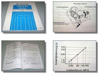 Toyota RAV4 CLA20 CLA21 Diagnosehandbuch Motor 1CD-FTV 2003